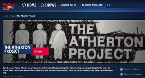 The Atherton Project on Red Bull TV
