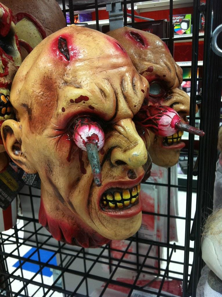 mutilated head