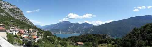 Pregasina and view of the lake