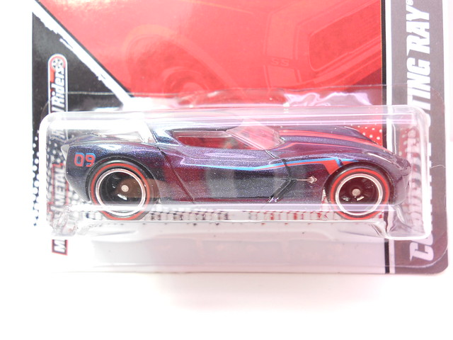 hot wheels garage corvette stingray concept blue (2)
