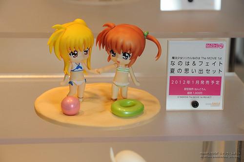 Nendoroid Petit Nanoha and Fate Beach version