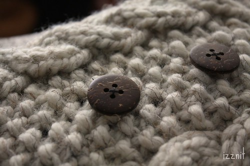 Coconut Buttons on Envy II
