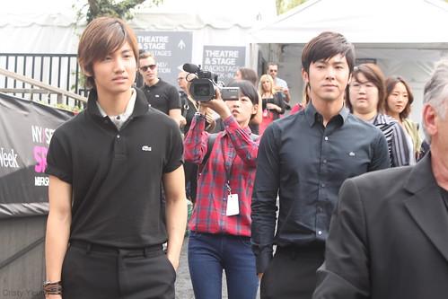 Changmin and Yunho
