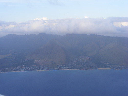 Aerial Picture of Oahu, Hawaii