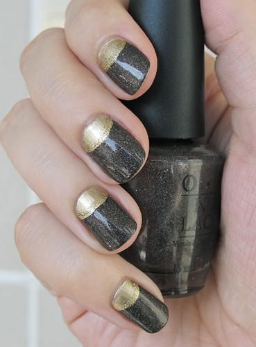 Half-moon manicure (1)