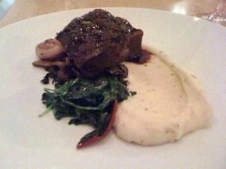 beef tenderloin with cauliflower - Show Case
