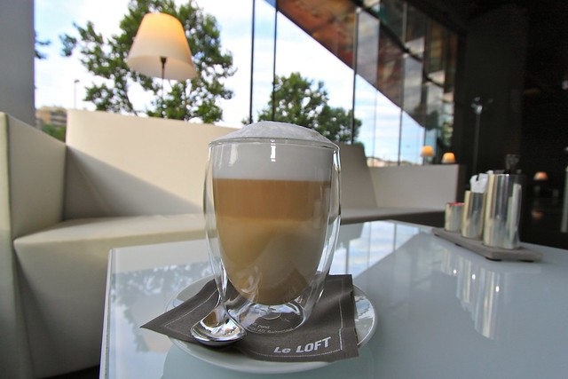 Café au Sofitel, Vienne, Autriche