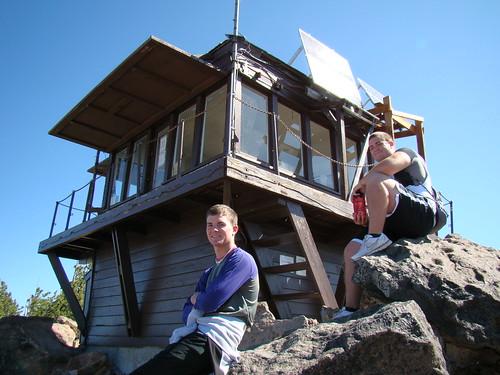Mt. Scott fire watchtower