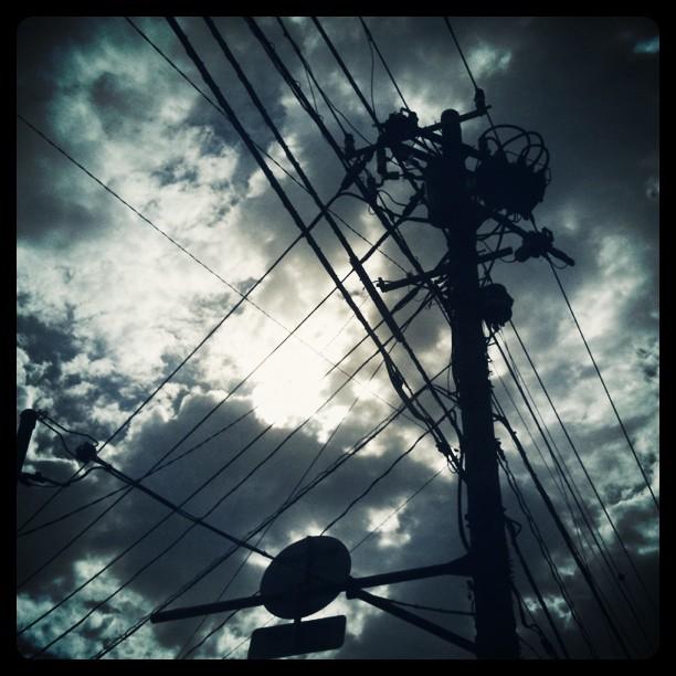 空を分割する。