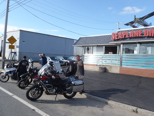 Meeting at the Seaplane Diner in Providence for brekkie