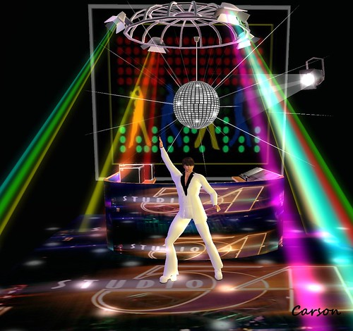 Dark Vision - Studio 54 DJ Booth, Wicked Beauty Light Shows  - Disco Laser, Fin - Mirror Ball with Spot