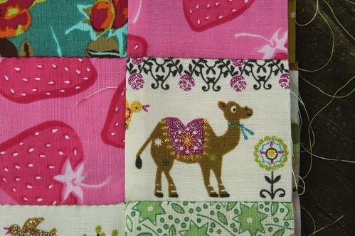 Fussy Cut Camel