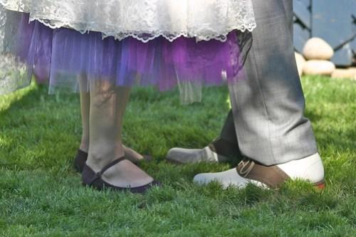 Our feet!