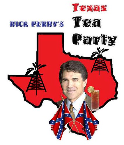 Rick Perry Throws His Stetson in the Ring