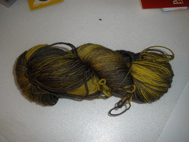 malabrigo yarn sock  turner