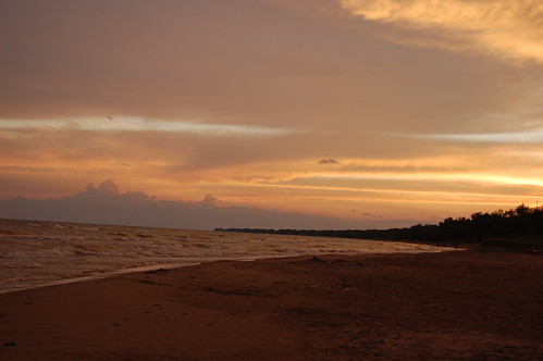 Last sunset at camp