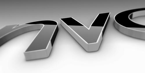 Black Classic 3D Logo - 2