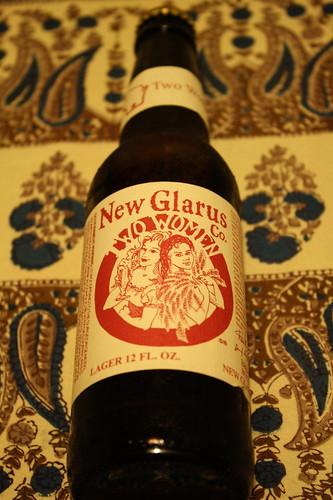 New Glarus Two Women beer