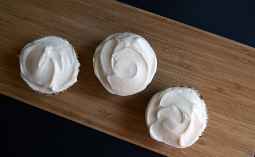 Vanilla Cupcakes with Bourbon Buttercream I