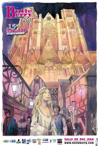 Festival BD Bulles de Berry // 1er et 2 octobre 2011 by Pegasus & Co
