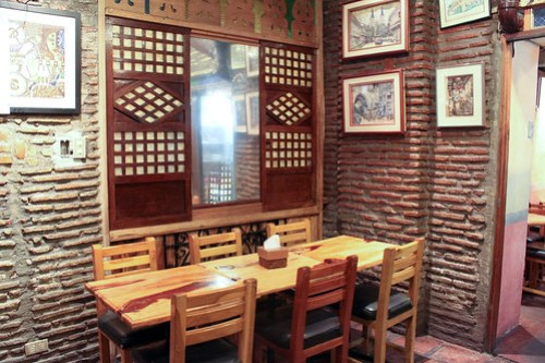 Inside Cafe Uno