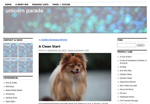 New New Blog Layout