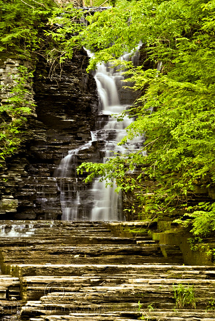 Upper Buttermilk Falls