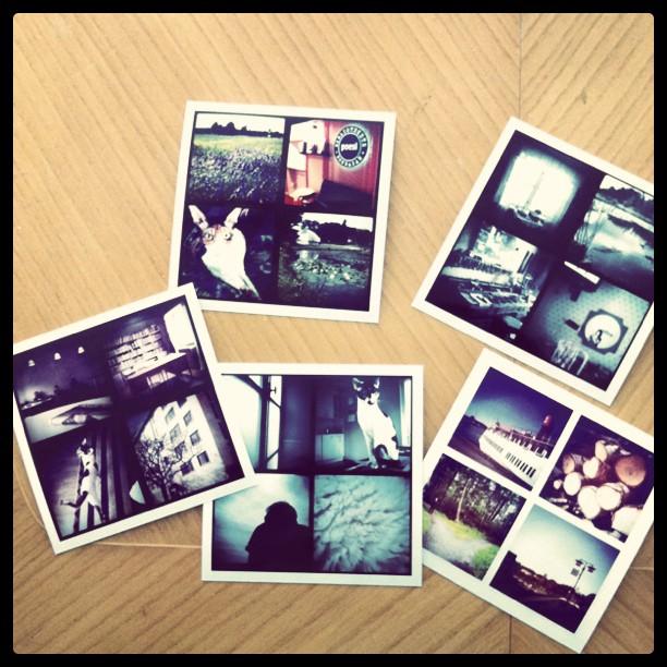 Printade Instagrambilder