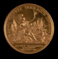 18th Century Commemorative Medal: Napoleonic W...