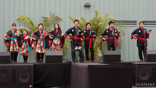 OC Japan Fair 2011, Okinawa Folk Music