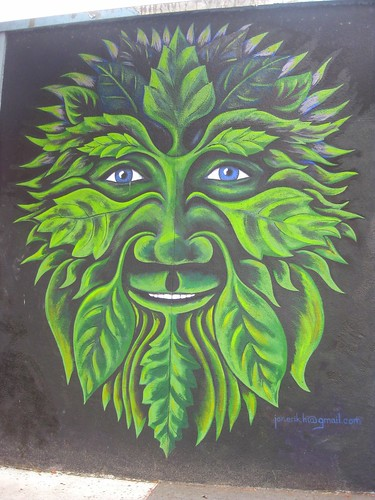 The Green Man by dyannaanfang
