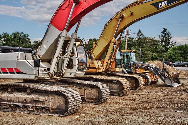 Excavators Close