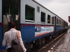 International Train from Nong Khai to Thanaleng