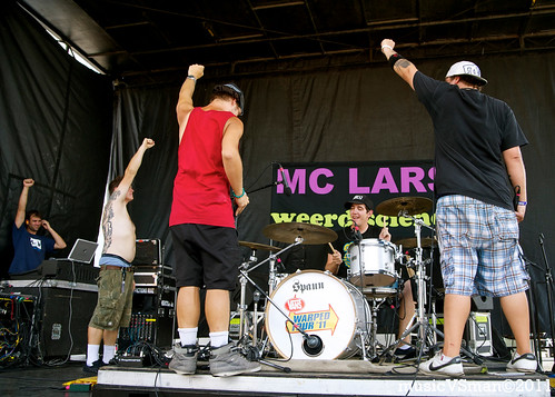 MC Chris and Weerd Science @ Warped Tour 2011