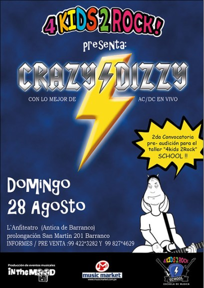 AFICHE CRAZY COMIC ! DOMINGO 14-08-11