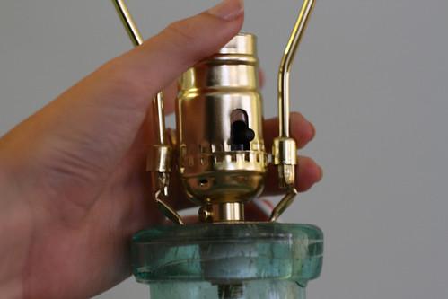 Glass Bottle Lamp: Step 3