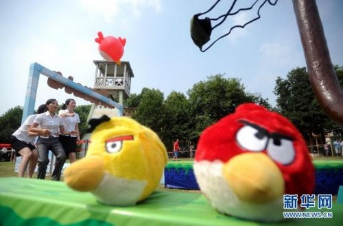Unlicensed Real-Life Angry Bird
