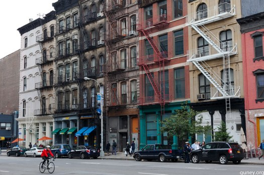 Tribeca, south of Canal Street