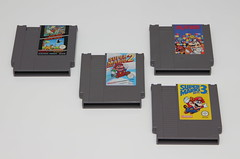 Super Mario NES games