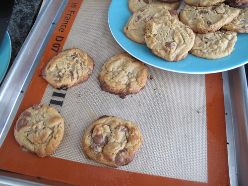 peanut butter and milk chocolate cookies