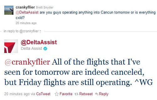 Delta Tweets it Right