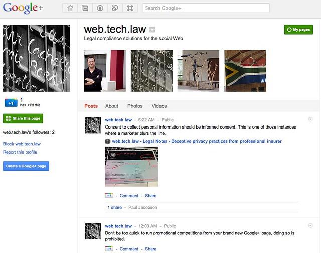web.tech.law - Google+