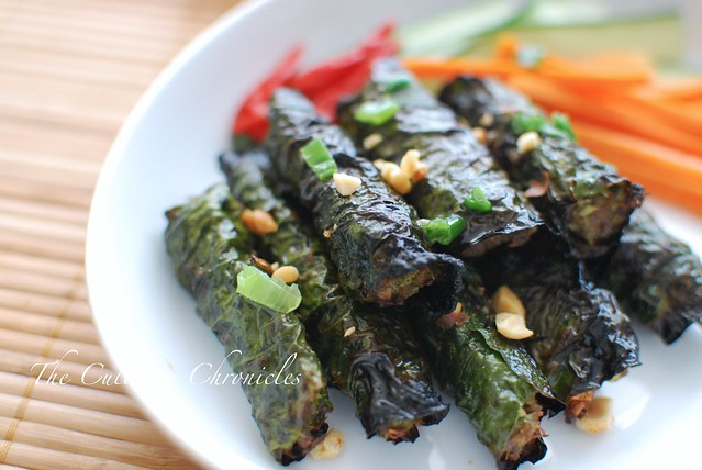 Thịt Bò Nướng Lá Lốt (Vietnamese Grilled Beef Wrapped in Betel Leaves)