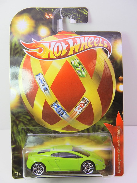 2011 hot wheels holiday hot rods lamborghini gallardo LP560-4  (1)