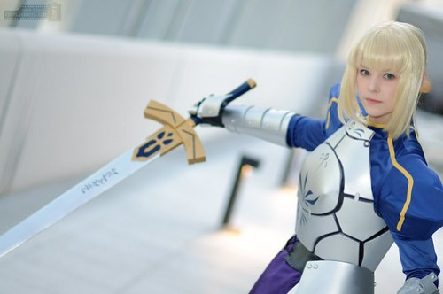 Fate Stay Night Saber Cosplay1