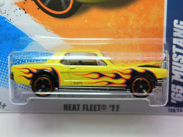 hot wheels heat fleet '65 mustang (2)