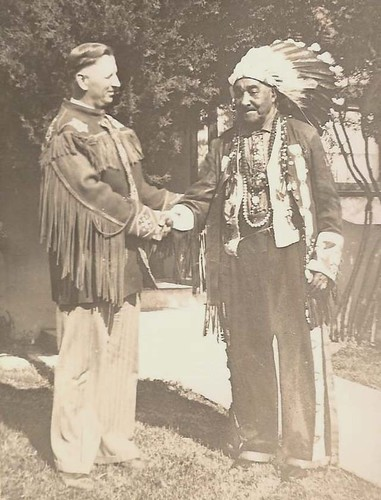 Amasa and Big Chief White Horse Eagle