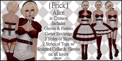 Alice in Crimson - Ad