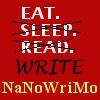 NaNoWriMo-Eat Sleep Read