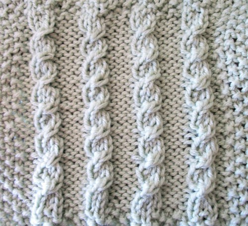 Knitting Stitch Patterns Mock Cable : Twist-Three Mock Cable The Walker Treasury Project